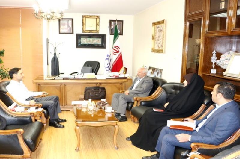 نشست مشترك رييس فدراسيون سه گانه با رييس سازمان ورزش شهرداري
