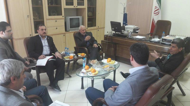 جلسه فدراسيون ورزش سه گانه با فدراسيون ورزش هاي دانشگاهي برگزار گرديد.