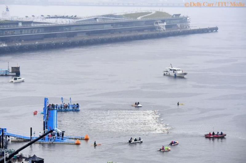 سومين دور از مسابقات سه گانه سري جهاني ITU در يوكوهاما ژاپن برگزار شد.