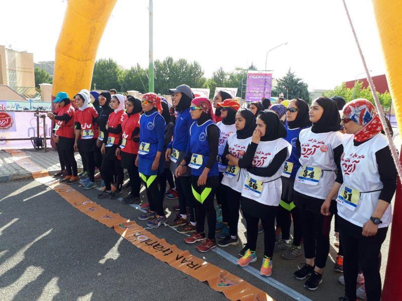 برگزاري اولين مرحله ليگ دوگانه بانوان در شهر اراك