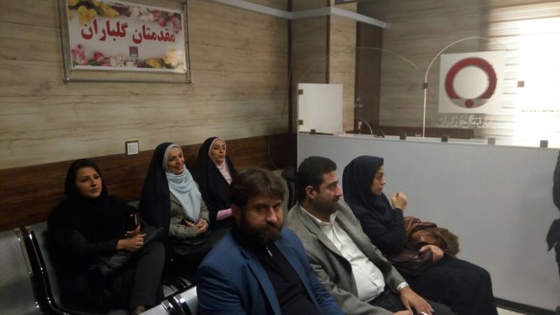 اهداي خون هيئت رئيسه و ورزشكاران استان البرز