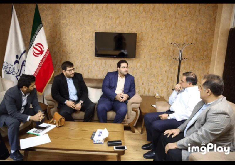 ديدار رئيس فدراسيون سه گانه با سرپرست سازمان ورزش شهرداري تهران