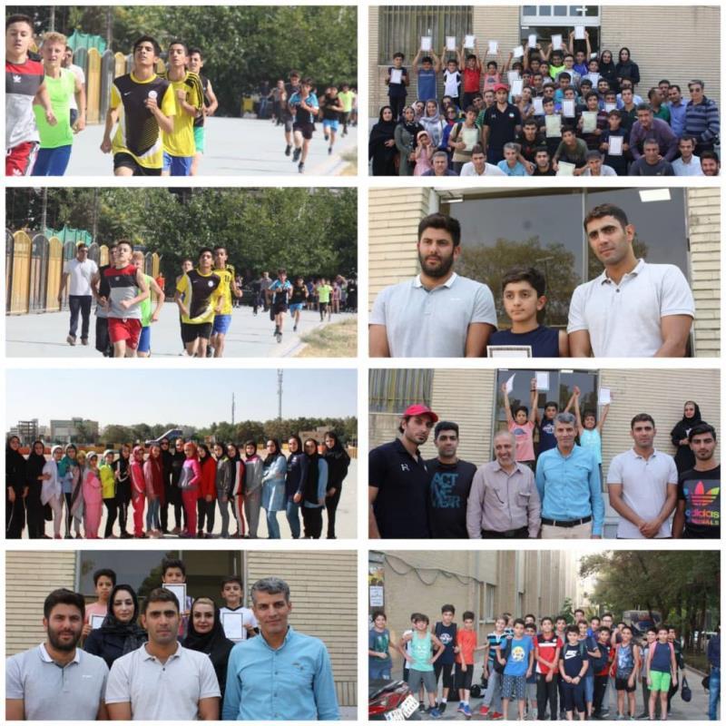 مسابقات استعداديابي آكواتلون پسران و دوگانه زميني دختران در اصفهان برگزار شد
