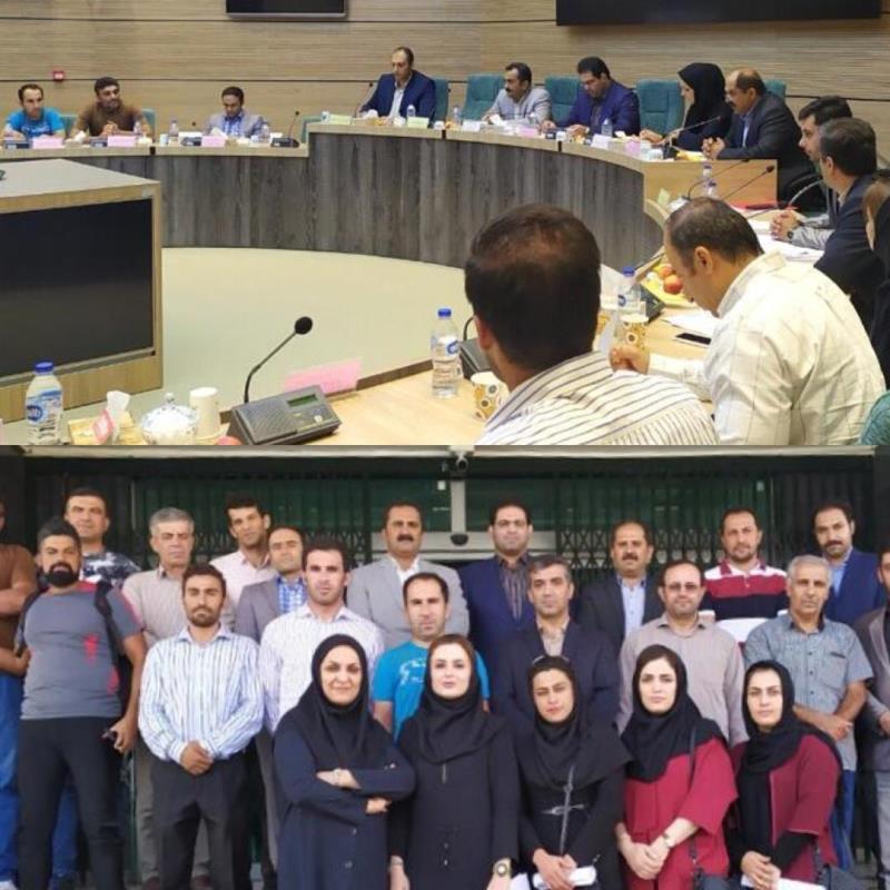 مجمع عمومي ساليانه هيئت ورزش سه گانه استان كردستان برگزار شد