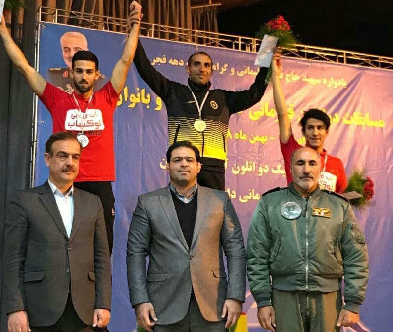 سومين دوره مسابقات دواتلون قهرماني كشور آقايان به ميزباني اصفهان برگزار شد
