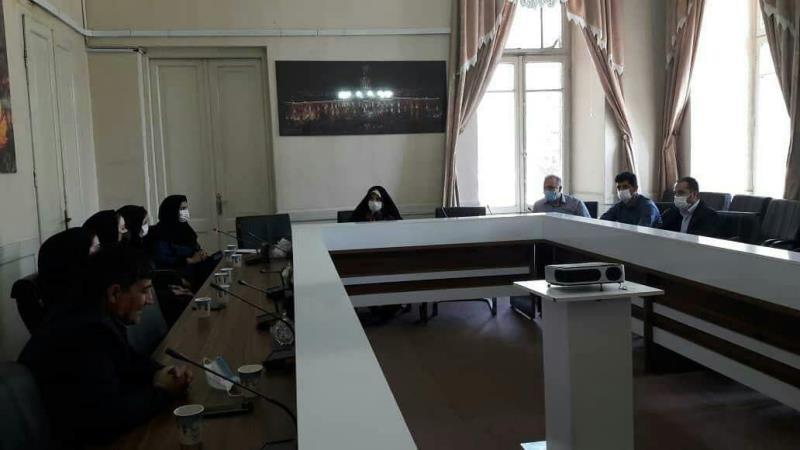 جلسه اعضاي هيئت تراي اتلون آذربايجان شرقي با نايب رئيس شوراي شهر