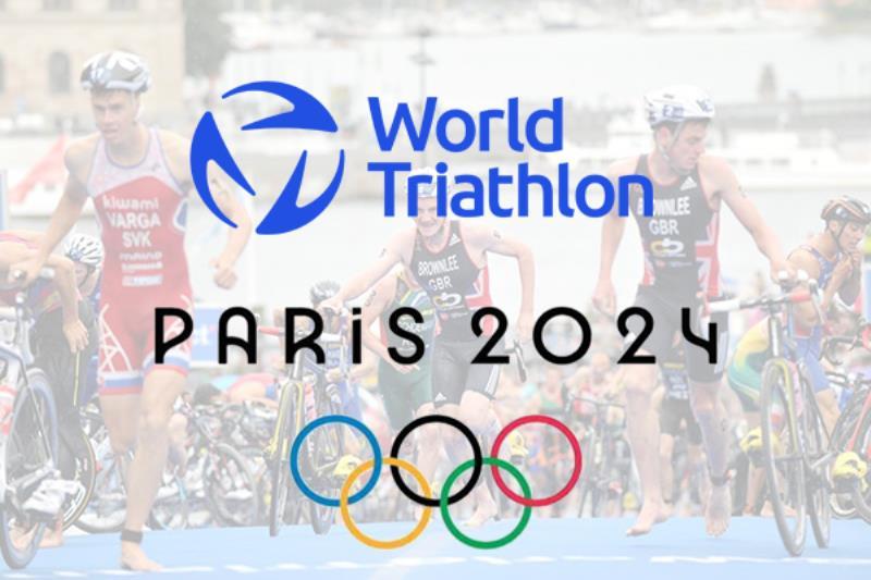 حفظ سهميه رشته تراي اتلون در المپيك پاريس 2024، رقابت 110 ورزشكار در سه مسابقه