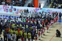 مراسم افتتاحيه جشنواره فرهنگي ورزشي نواحي و سازمانهاي بسيج اقشار برگزار شد
