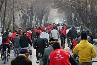 همايش همگاني دوچرخه سواري هفته هواي پاك برگزار شد