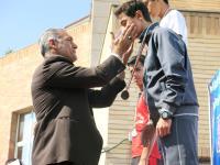 گزارش تصويري مسابقات قهرماني سه گانه نونهالان  و نوجوانان در تبريز