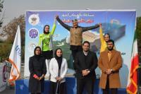 نخستين دوره مسابقات قهرماني كشور تراياتلون منقطع كراس بانوان تهران ۱۳۹۸